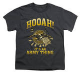 Youth: Army - Hooah Shirts