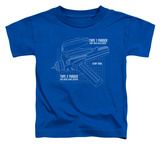 Toddler: Star Trek - Phaser Plans T-Shirt