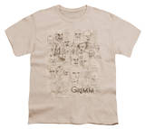 Youth: Grimm - Wesen Sketches T-Shirt