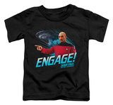 Toddler: Star Trek - Engage T-shirts