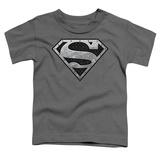 Toddler: Superman - Super Metallic Shield Shirt