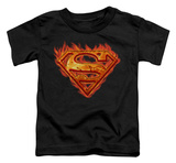 Toddler: Superman - Hot Metal T-Shirt
