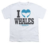 Youth: Big Miracle - I Heart Whales T-shirts