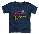 Toddler: Superman - Flying Over T-shirts