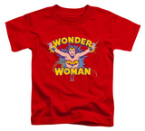 Toddler: Wonder Woman - Flying Through T-shirts