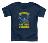 Toddler: Superman - Veggie Power T-Shirt