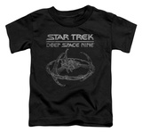 Toddler: Star Trek - Deep Space 9 Station T-shirts