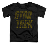 Toddler: Star Trek - Distressed Logo Shirt