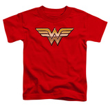 Toddler: Wonder Woman - Golden T-Shirt