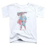 Toddler: Superman - Vintage Ink Splatter T-Shirt
