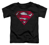 Toddler: Superman - War Torn Shield T-Shirt