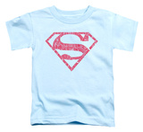 Toddler: Superman - Word Shield T-shirts