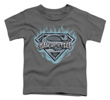 Toddler: Superman - Man Of Steel Shield Shirt
