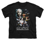 Youth: Battlestar Galactica - 35th Anniversary Collage T-shirts