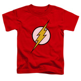 Toddler: The Flash - Flash Logo Shirts