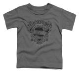 Toddler: Superman - Scrolling Shield T-shirts
