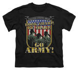 Youth: Army - Go Army T-shirts