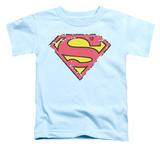 Toddler: Superman - Distressed Shield T-shirts
