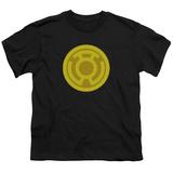 Youth: Green Lantern - Yellow Symbol T-shirts