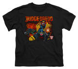 Youth: Judge Dredd - Through Fire T-Shirt