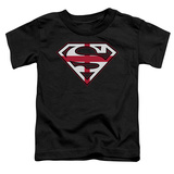 Toddler: Superman - English Shield T-Shirt
