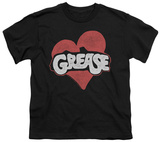 Youth: Grease - Heart T-Shirt