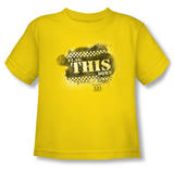 Toddler: Taxi - Flag This Shirts