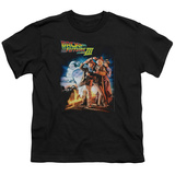 Youth: Back To The Future III - Poster T-shirts