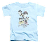 Toddler: Star Trek - Retro Crew Shirts