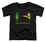 Toddler: Star Trek - Kirk Phased First Shirt