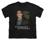 Youth: Person Of Interest - I Know T-Shirt