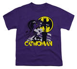 Youth: Catwoman - Rooftop Cat T-shirts