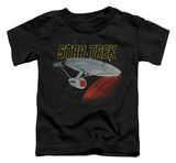 Toddler: Star Trek - Retro Enterprise Shirts