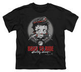 Youth: Betty Boop - Born To Ride Shirt