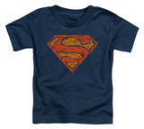 Toddler: Superman - Messy S T-Shirt