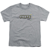 Youth: Farts Candy - Finger Logo Shirt