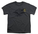 Youth: Army - Left Chest T-Shirt
