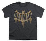Youth: Batman Classic TV - Vintage Logo T-Shirt