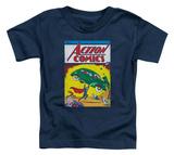 Toddler: Superman - Action No. 1 T-shirts