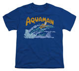 Youth: Aquaman - Aqua Swim T-Shirt