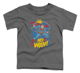 Toddler: Superman - No Way T-shirts