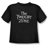 Toddler: The Twilight Zone - Logo T-Shirt