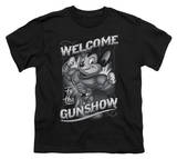 Youth: Mighty Mouse - Mighty Gunshow T-shirts