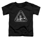 Toddler: Star Trek - White Academy Logo T-Shirt