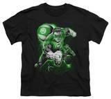 Youth: Green Lantern - Lantern Planet T-shirts