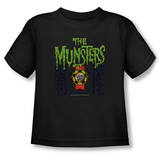 Toddler: The Munsters - 50 Year Logo T-Shirt