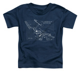 Toddler: Star Trek - Enterprise Prints Shirt