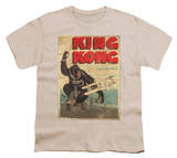 Youth: King Kong - Old Worn Poster T-Shirt