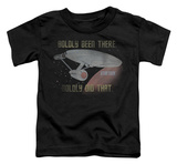 Toddler: Star Trek - Boldly Did That T-Shirt