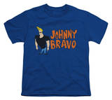 Youth: Johnny Bravo - Johnny Logo T-Shirt